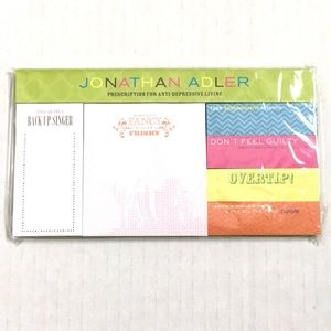 ✨NEW✨Jonathan Adler | Colorful Fun Sticky Note Set